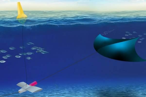 Una cometa submarina generará energía mareomotriz